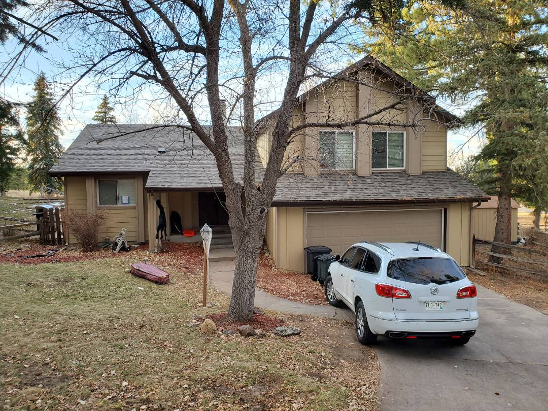 Parker, CO - We are doing a roof inspection in the Pinery in Parker, CO