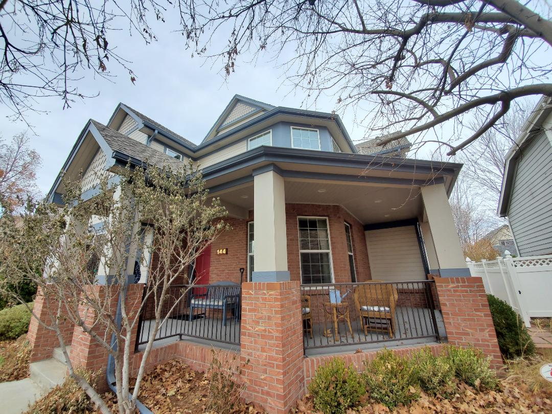 Denver, CO - We are doing a gutter cleaning and sealing some gutter seams on this home in Denver