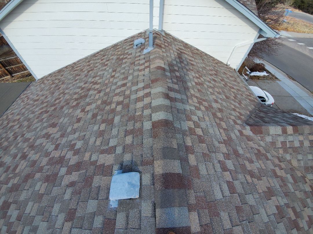 Castle Rock, CO - We are doing a full roof replacement on this rental house in Castle Rock. We are going to install Owens Corning Duration shingles in driftwood color. While there was hail damage in this area, this roof will not be replaced through insurance