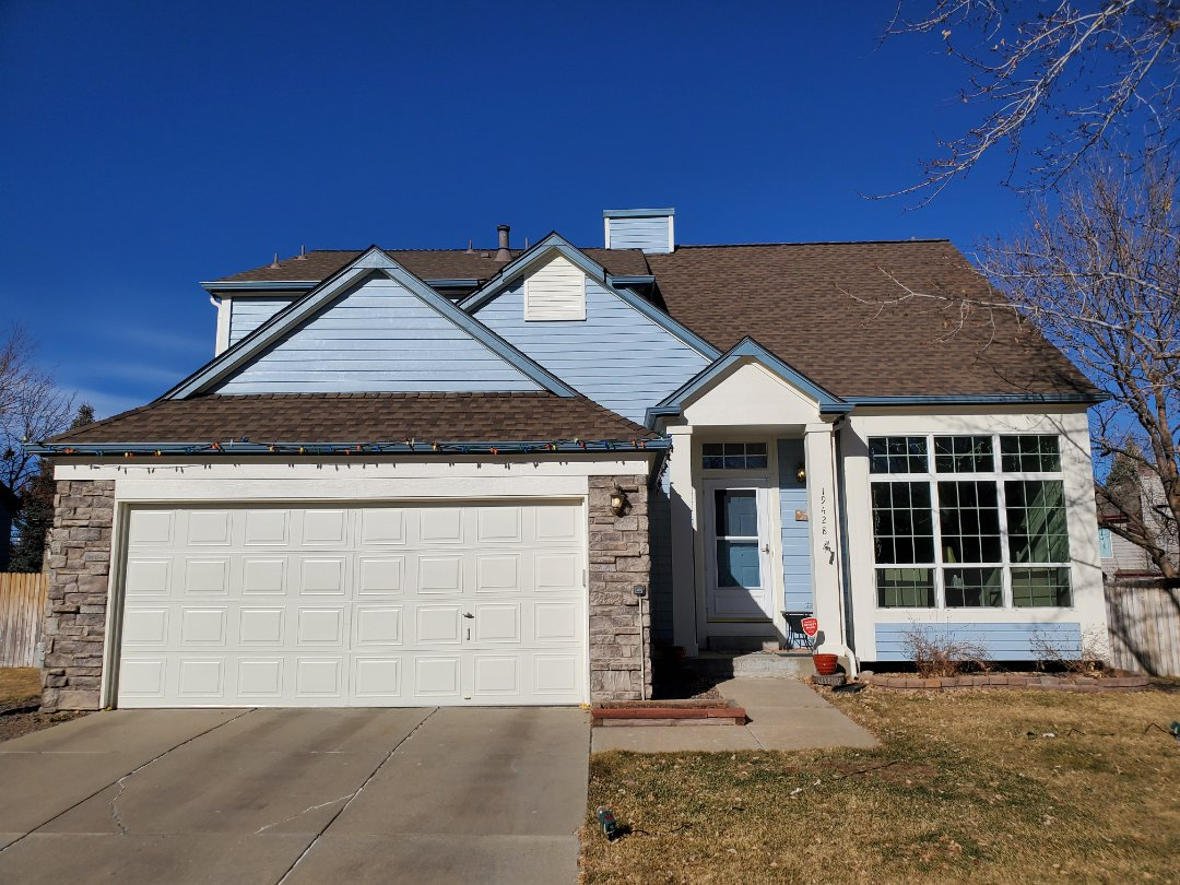 Centennial, CO - We are tracking a roof leak on an asphalt roof that was replaced in 2009 in Aurora.