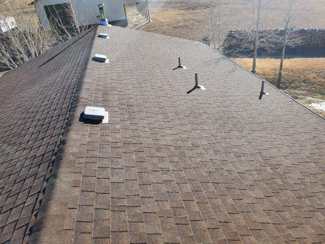 Parker, CO - We are doing a full roof replacement for this house in Parker due to a hail claim from tbis last summer