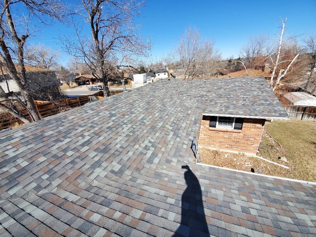 Englewood, CO - we are doing a roof inspection for this home in Centennial. It is being purchased and the new buyers wanted to have it looked at to ensure the roofs longevity.
