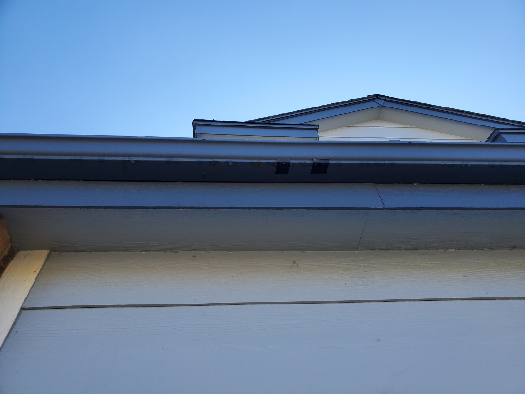 Parker, CO - We are doing a gutter replacement on this house in Clark Farms, Parker, CO