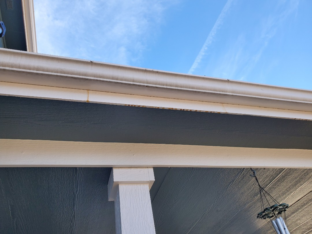 Parker, CO - We are doing a gutter replacement job in Parker, Bradbury Ranch subdivision, where the gutters are old and leaking