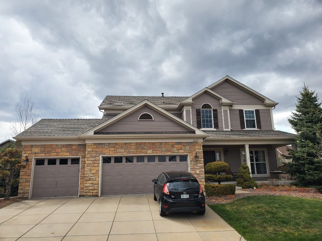 Littleton, CO - We are finalizing the roofing project for this house in Parker