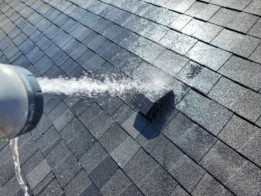 Aurora, CO - We are working on a roof leak at this house where event was allowing water to get into the Attic