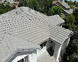 Aurora, CO - We are doing a concrete tile roof repair for this house in Aurora