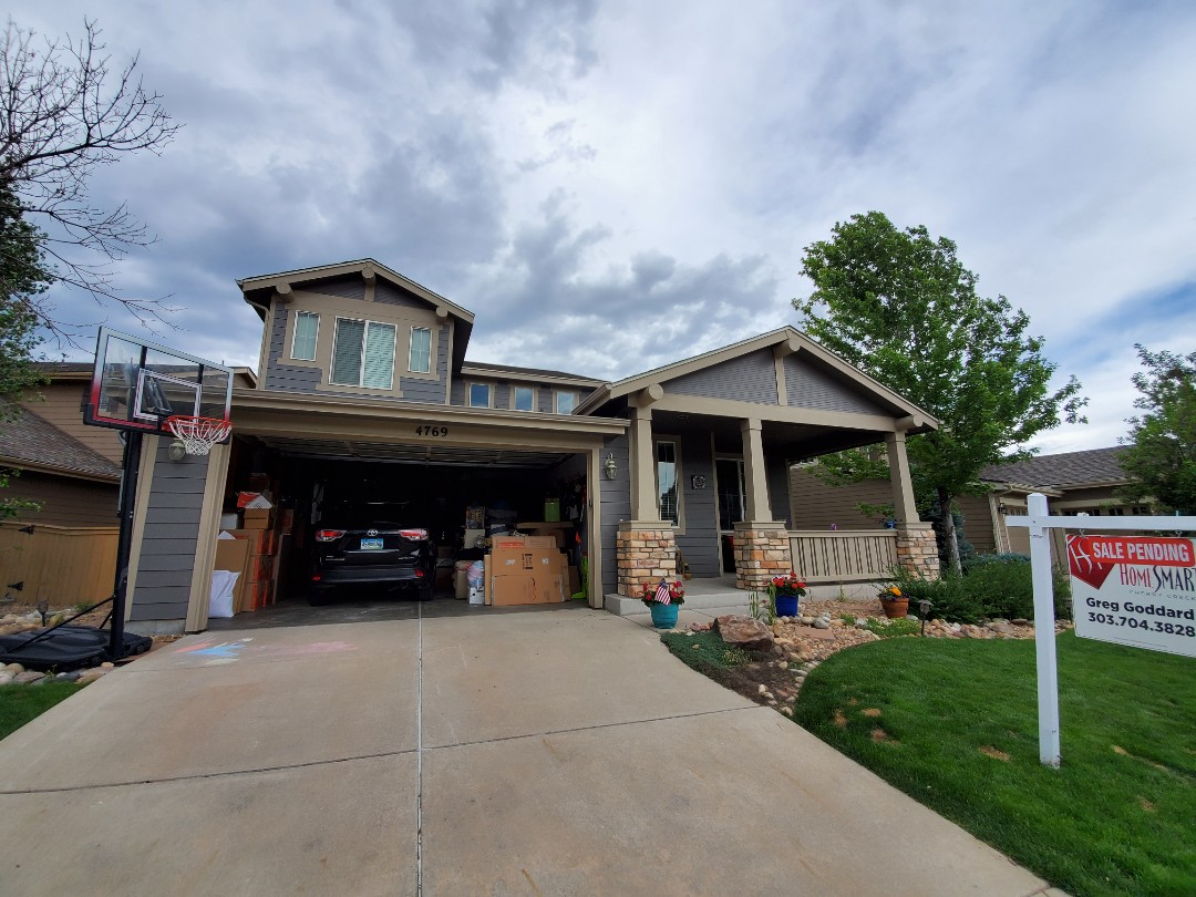 Littleton, CO - We are doing a roof repair for this house in Highlands Ranch that is for sale and had a few minor issues called out on the inspection report