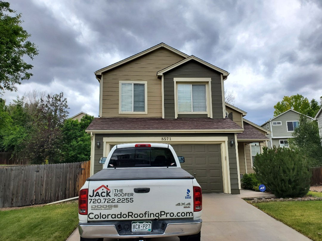 Castle Rock, CO - We are doing a roof tune up for this house in Parker that need some routine maintenance. We are also inspecting to see if there is enough ventilation to accommodate a whole house fan