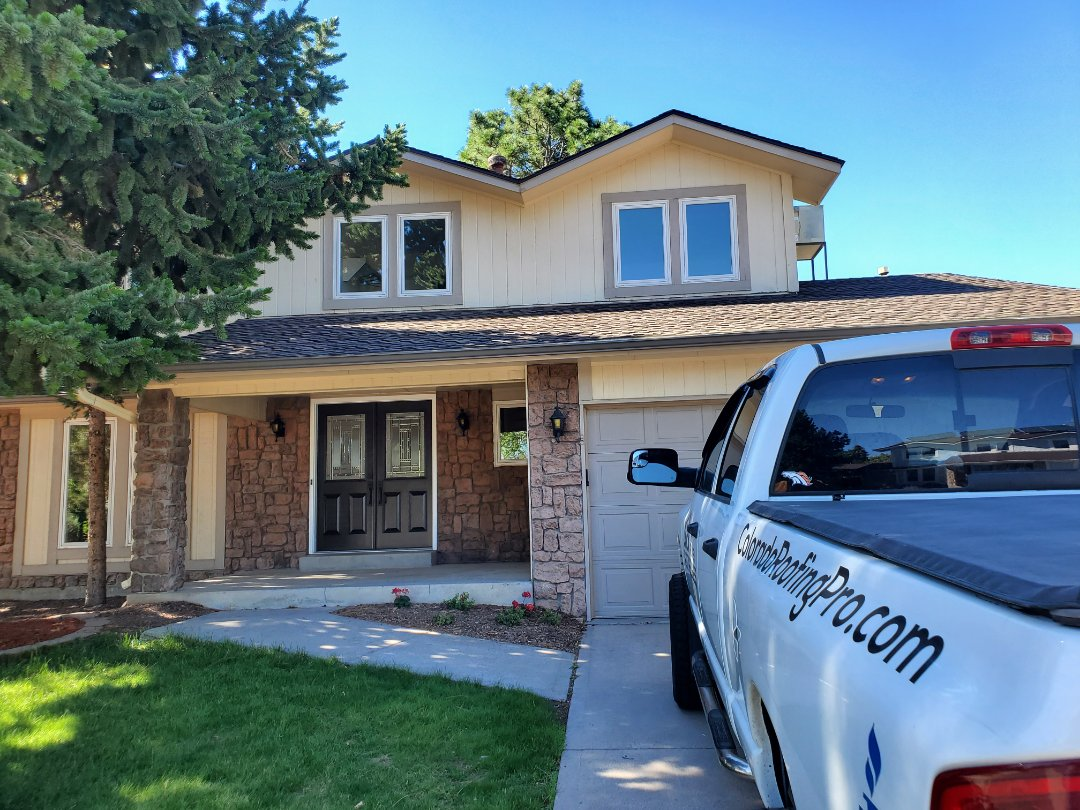 Englewood, CO - We are doing a roof inspection for this home in Englewood, CO that is on the market to be sold