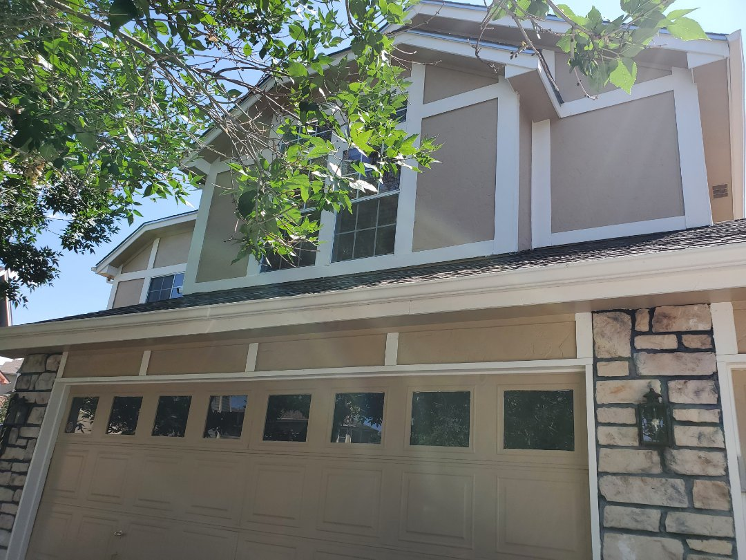 Littleton, CO - We are doing a roof repair for a house in Highlands Ranch CO that is being sold and some roof and gutters replacement needs to be done per the inspection objections