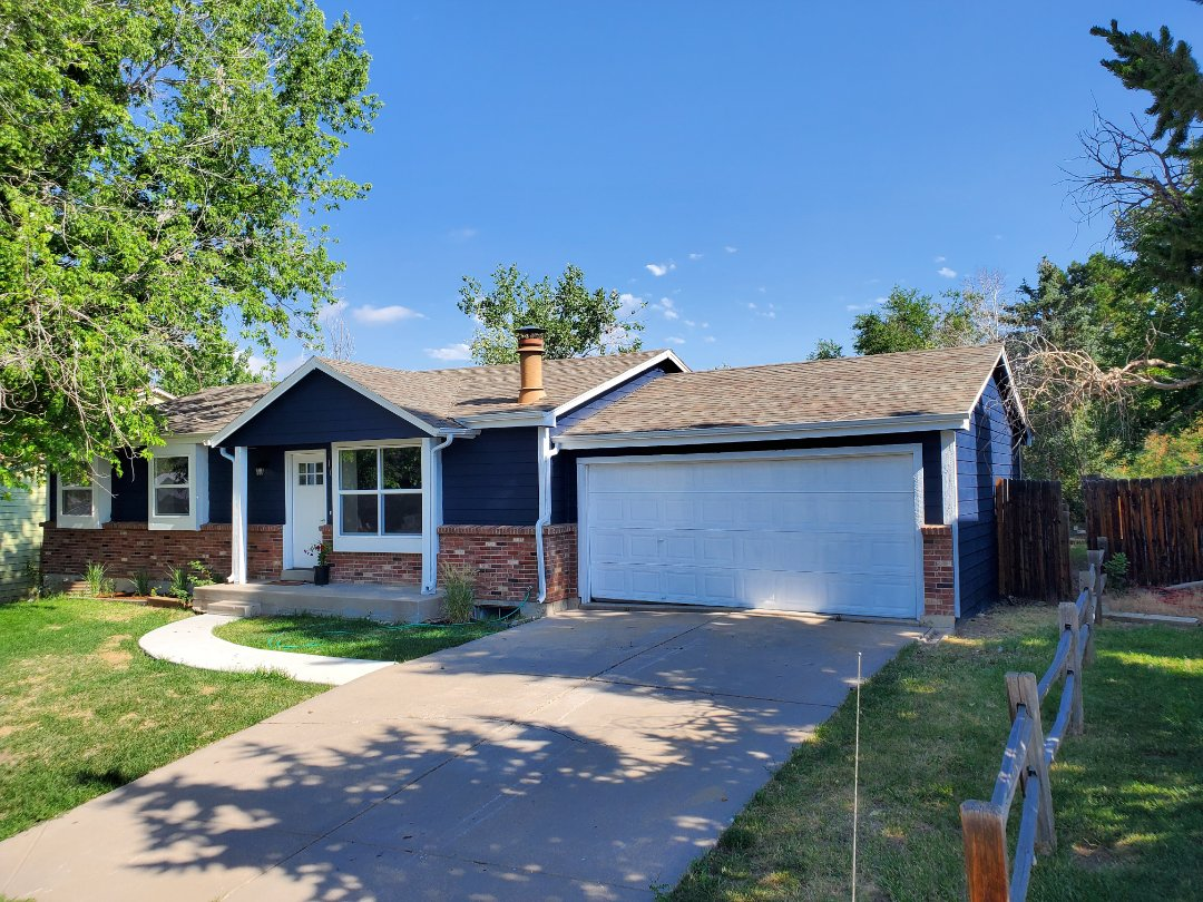 Littleton, CO - We are doing a roof inspection for this home in Littleton that is going to be on the market soon. There is very little hail damage but there are some roof repairs that are needed.