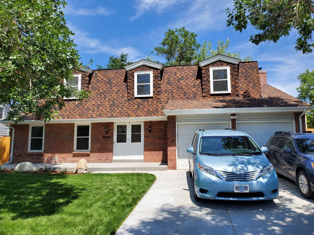 Centennial, CO - We are doing a roof inspection for a house that has a roof leak from a previous contractors installation