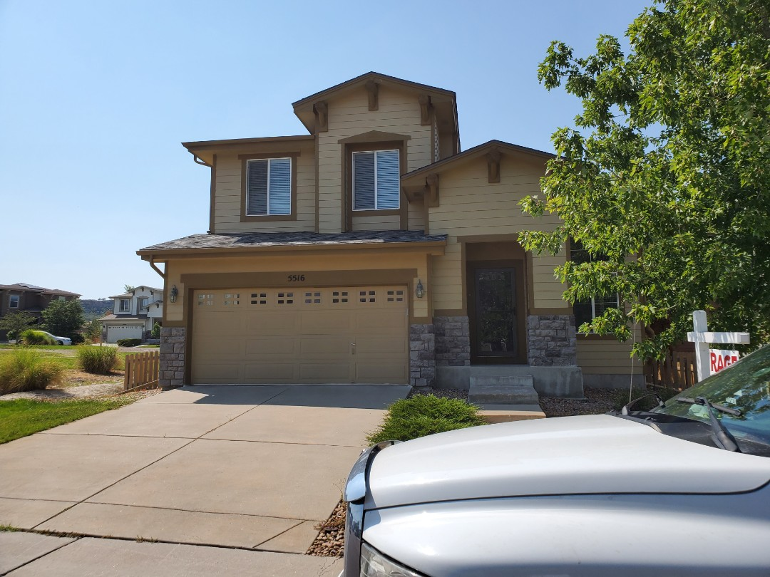 Littleton, CO - We are doing a roof inspection for this house in Lone Tree and providing a roof certification for 5 years