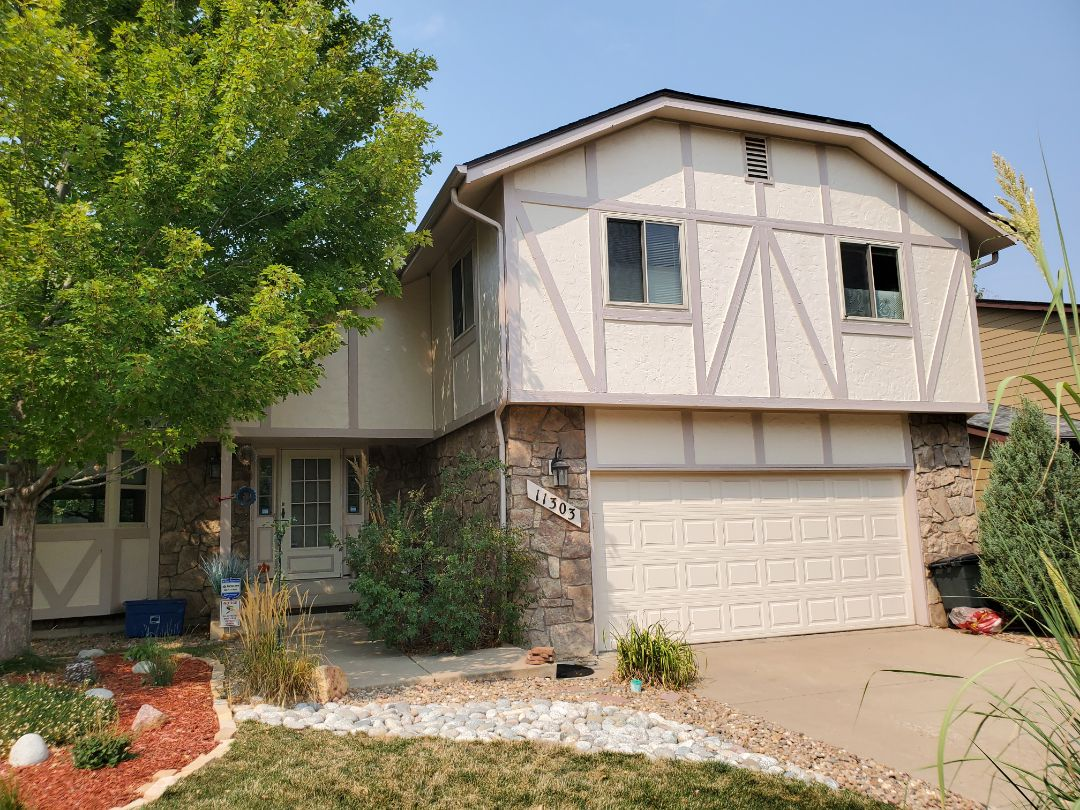 Aurora, CO - We are doing a roof inspection for this house in Aurora that might have hail damage