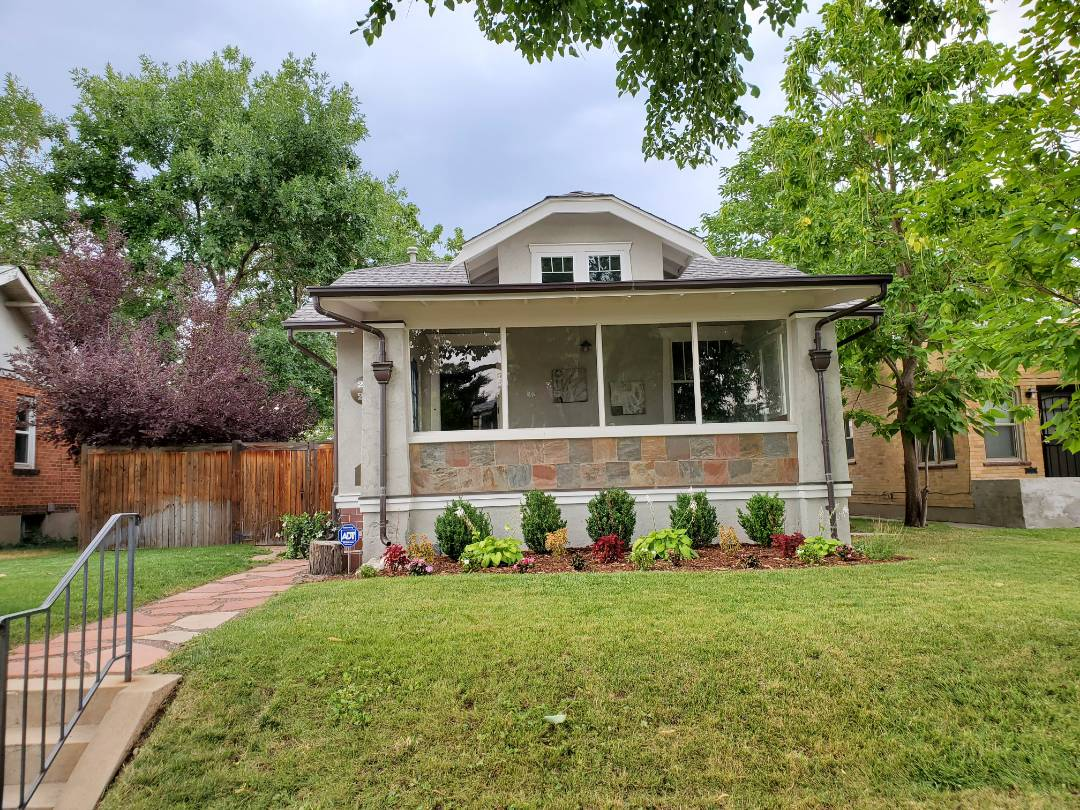 Denver, CO - we are doing the roof inspection for this house in Denver that is going to be sold in the next month or so. The roof has hail damage as well as the garage roof and should be inspected by an insurance company to determine coverage
