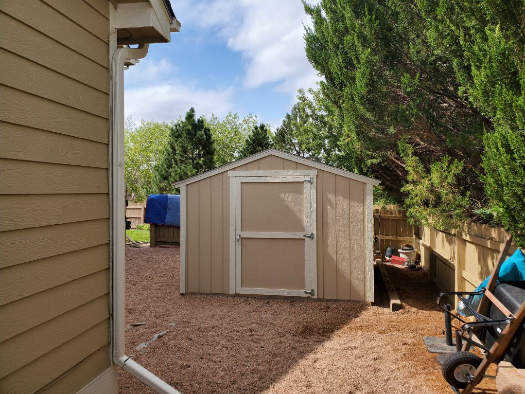 Parker, CO - We are doing a roof inspection for this house in Parker where the HOA needs to approve a shed roof