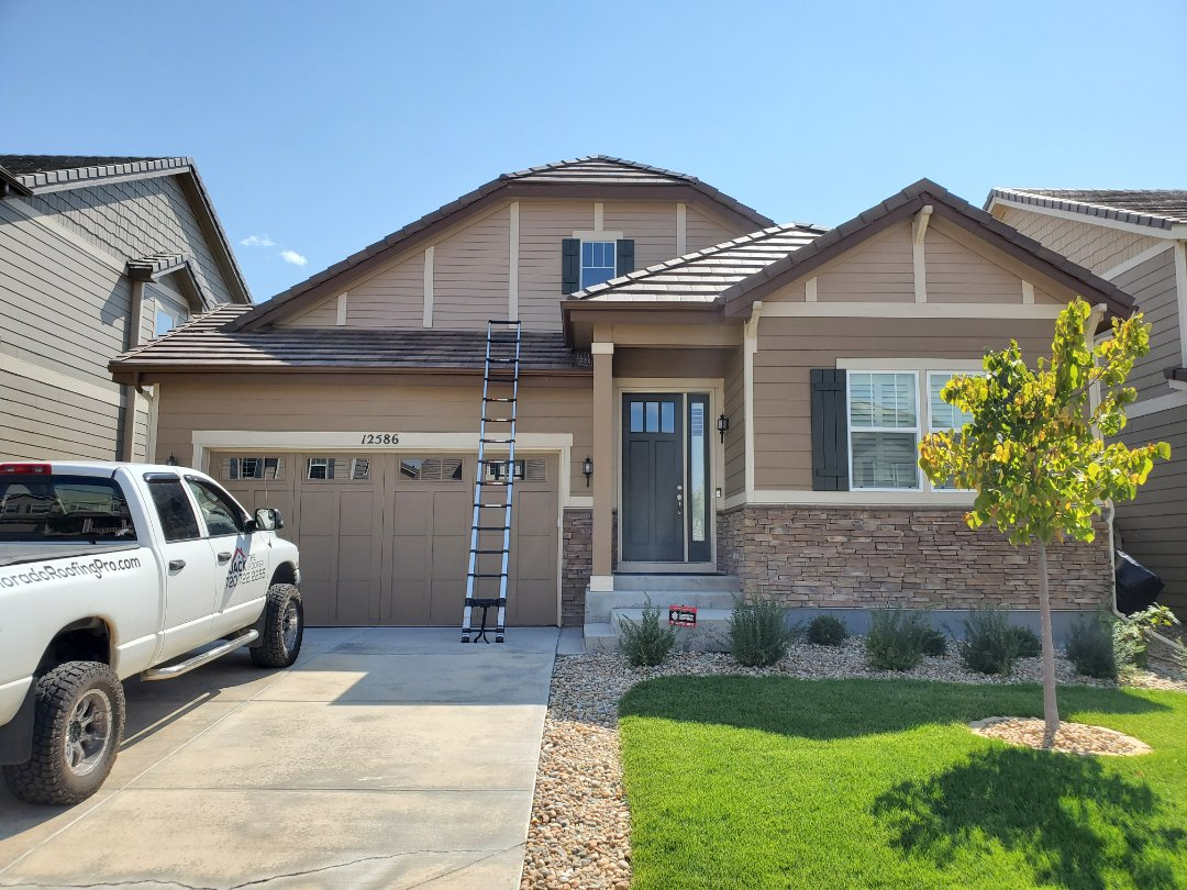 Englewood, CO - We are doing a roof inspection for this tile roof in Englewood