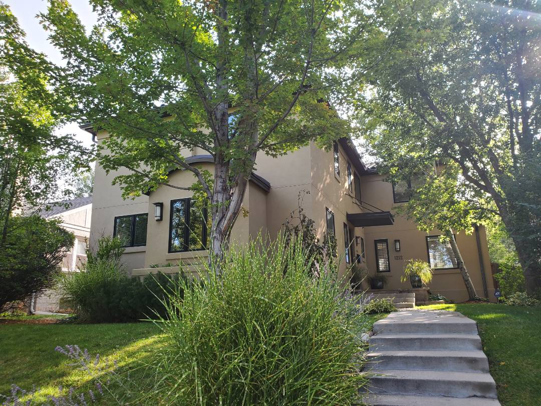 Denver, CO - We are doing a roof repair for this concrete tile roof for this house in Denver