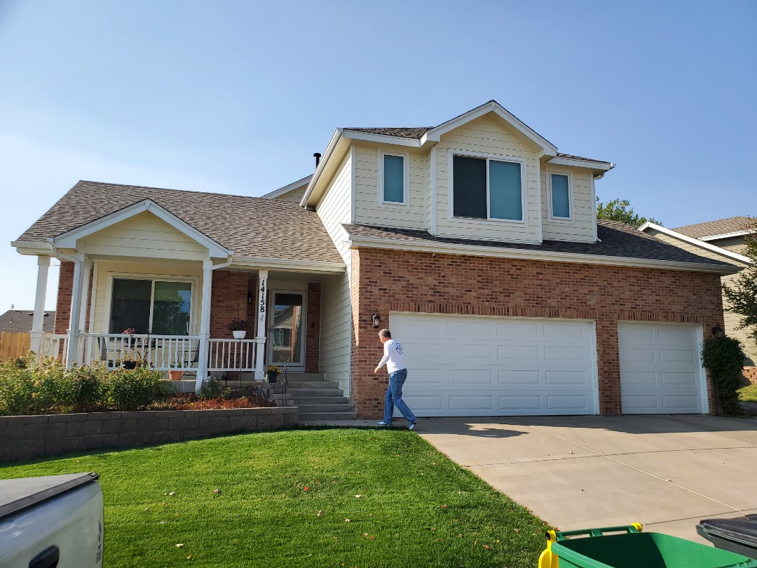 Littleton, CO - We are doing a roof replacement quote for a house in Littleton that was approved for replacement through an insurance claim