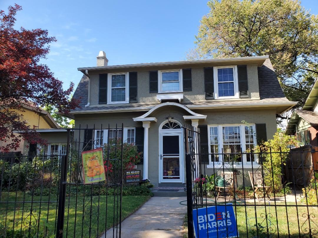 Denver, CO - We are doing a free inspection and providing a quote to install new gutters on this house in Denver