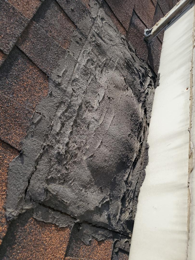 Parker, CO - We are doing a roof inspection for a house in Parker that has a roof leak around the swamp cooler