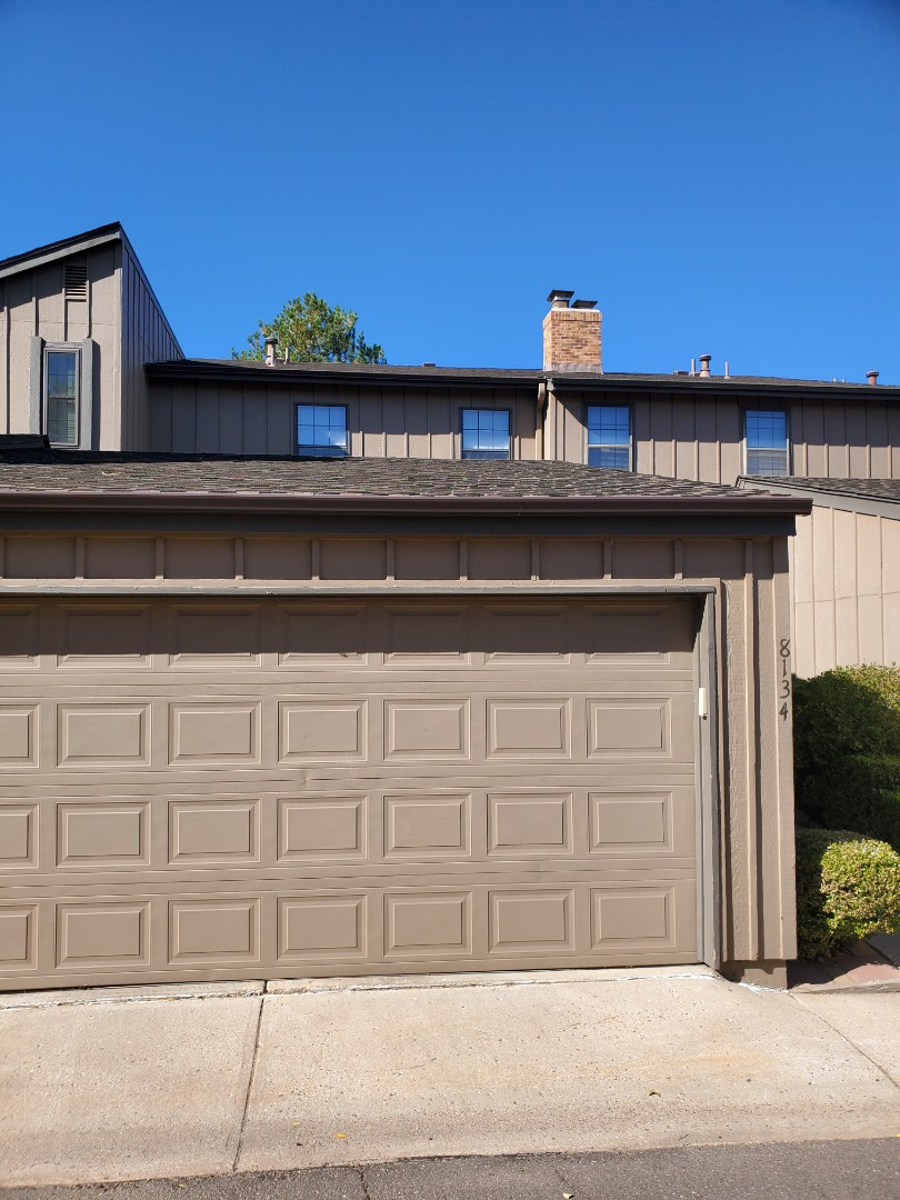 Centennial, CO - We are doing a quote for a gutter replacement for this townhouse in Centennial