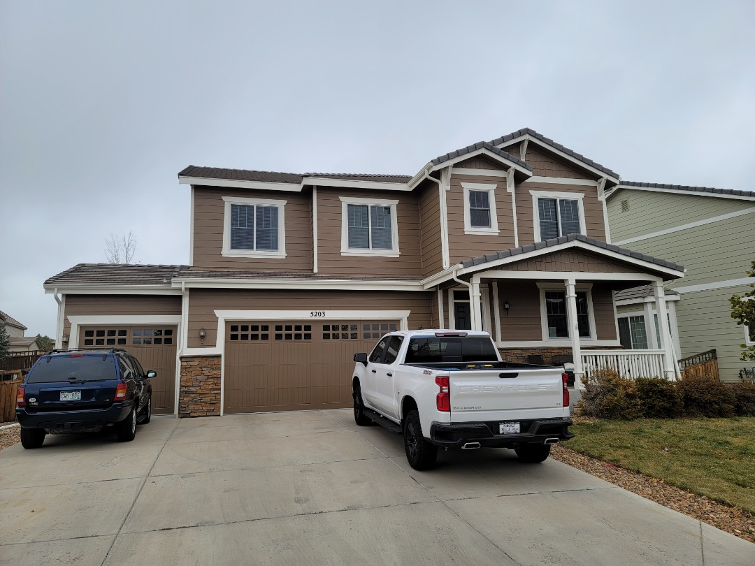 Castle Rock, CO - We are doing a roof repair for this tile roof in Castle Rock