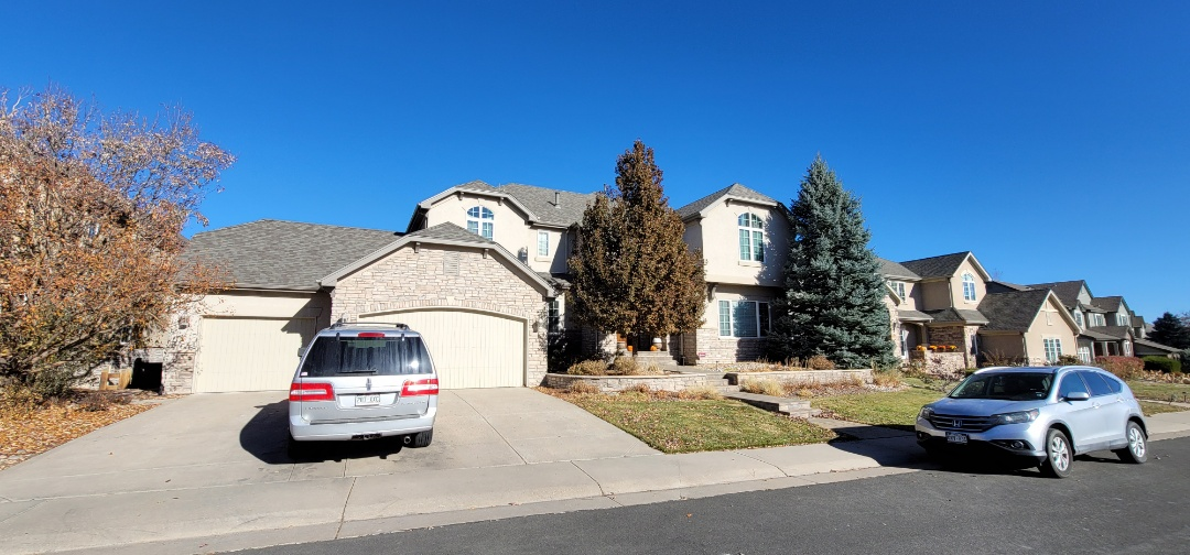 Littleton, CO - We are doing a roof inspection for a roof leak for a roof that is 4 years old and the last Roofer did not install the materials they quoted and now it's leaking