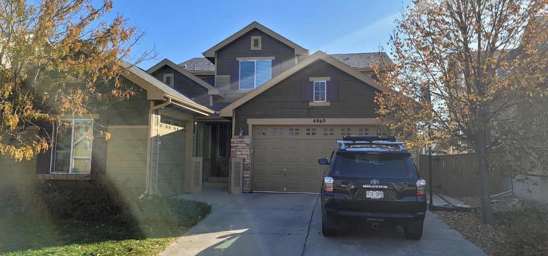 Littleton, CO - We are doing a roof inspection for a leaking roof vent for this house in Littleton