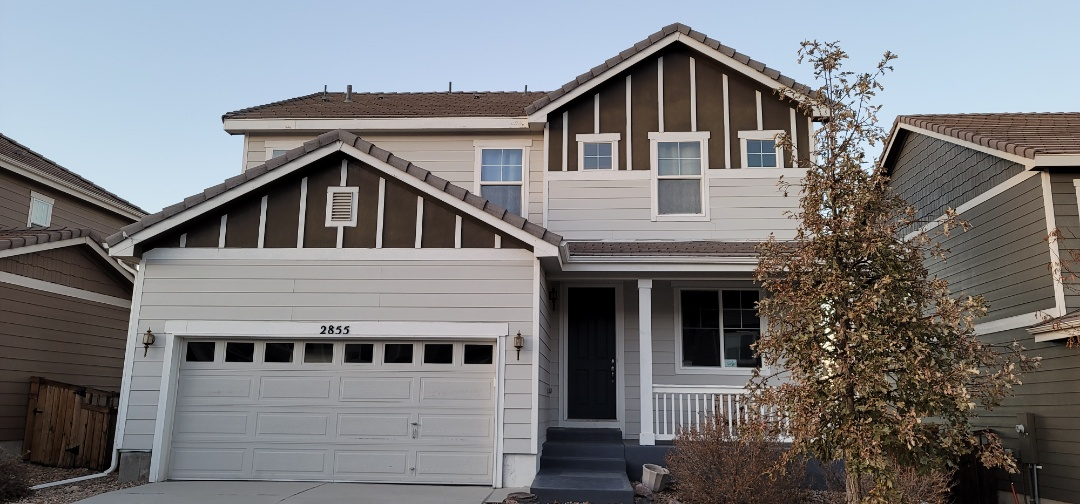 Aurora, CO - We are doing a roof inspection for a concrete tile roof in Castle Rock