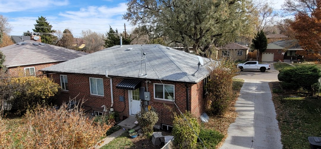 Denver, CO - We are doing a roof inspection for this house in Denver that needs to be replaced because it is an old roof