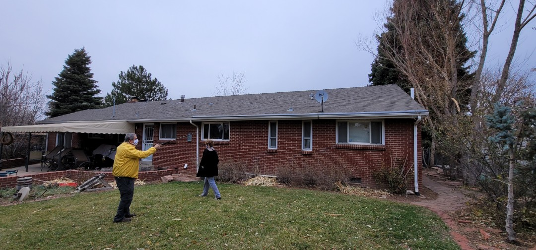 Centennial, CO - We are doing a roof inspection for this house that needs full roof replacement