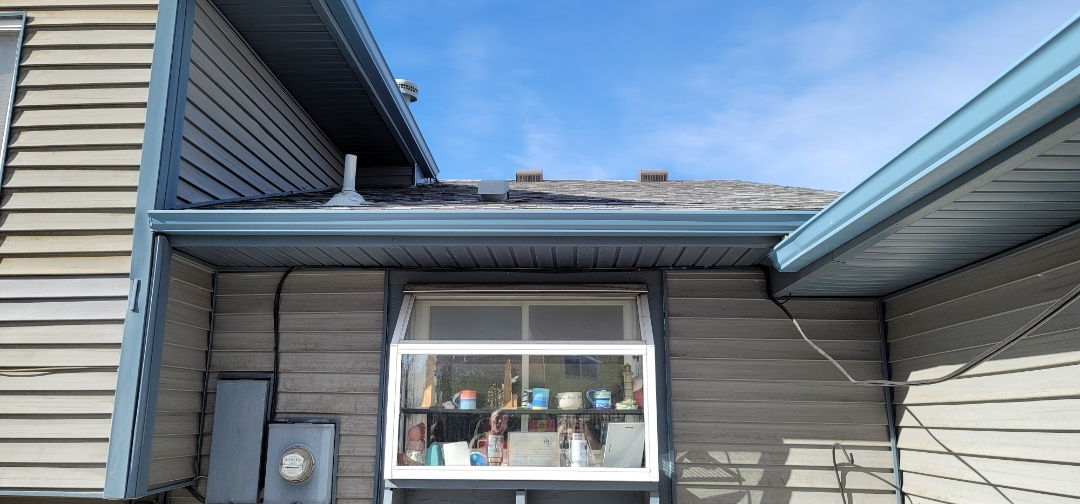 Littleton, CO - We are doing a roof leak inspection for this house that has a leaky vent into a kitchen. Turns out the vent itself is installed improperly