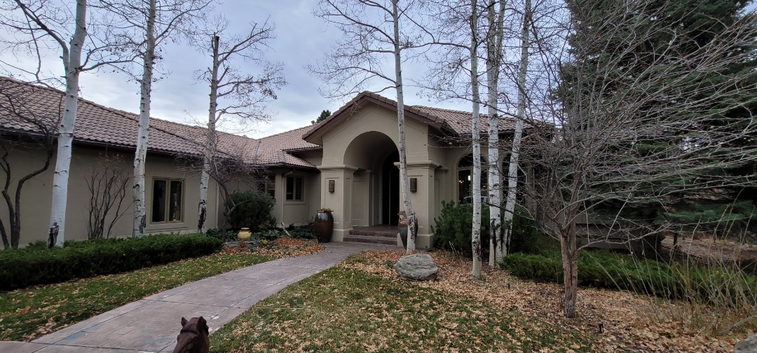 Castle Rock, CO - We are doing a roof inspection for this house in Castle Pines that has squirrels getting into the attic through susceptible points in the tile roof