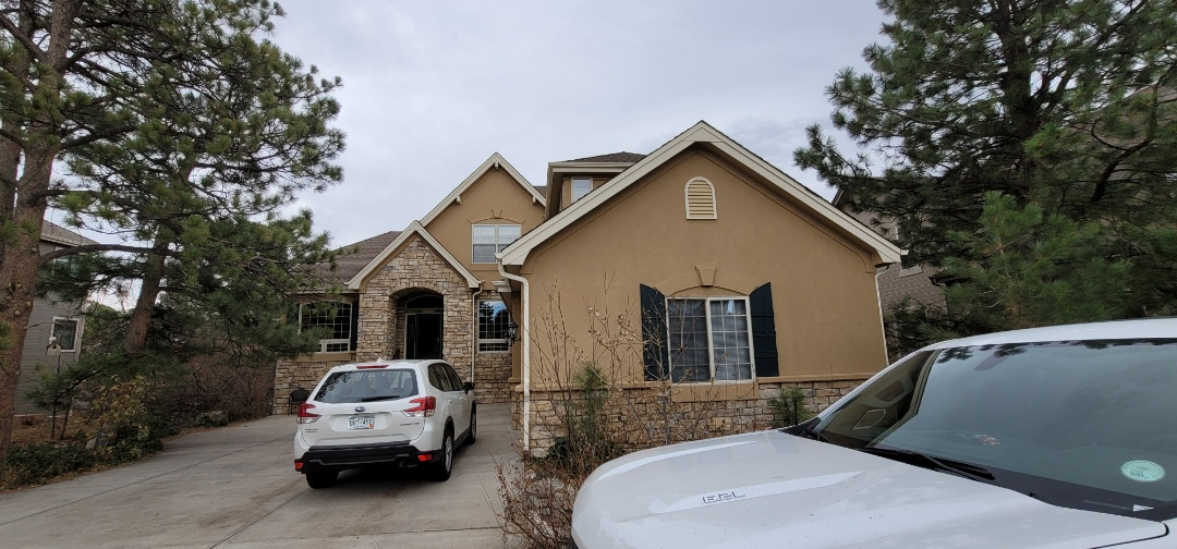 Castle Rock, CO - We are doing a roof inspection for hail damage for this roof in Castle Pines