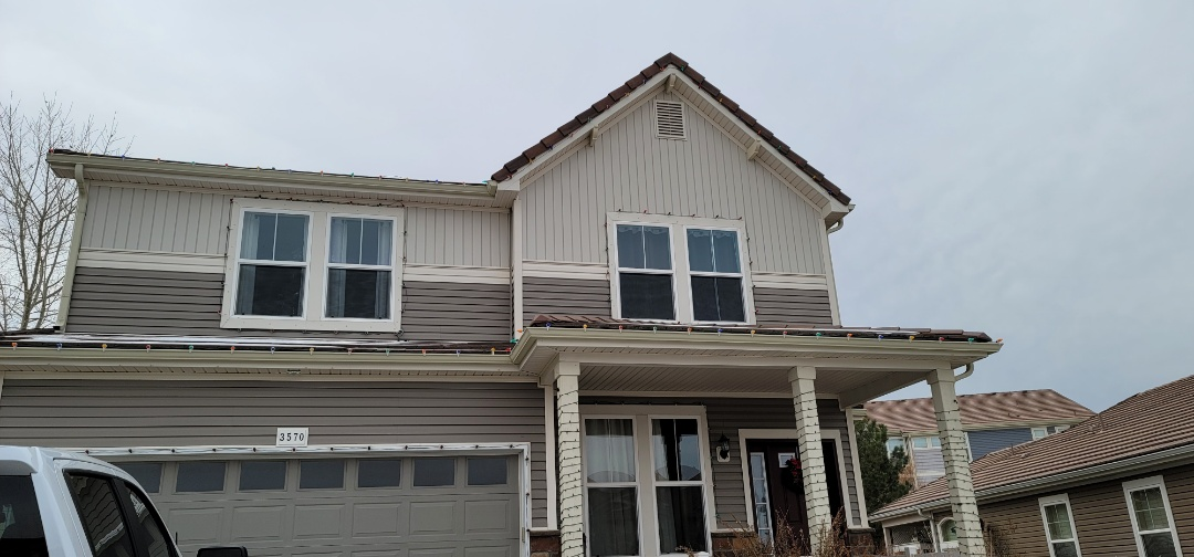 Castle Rock, CO - We are doing a tile roof repair for this house in Castle Rock