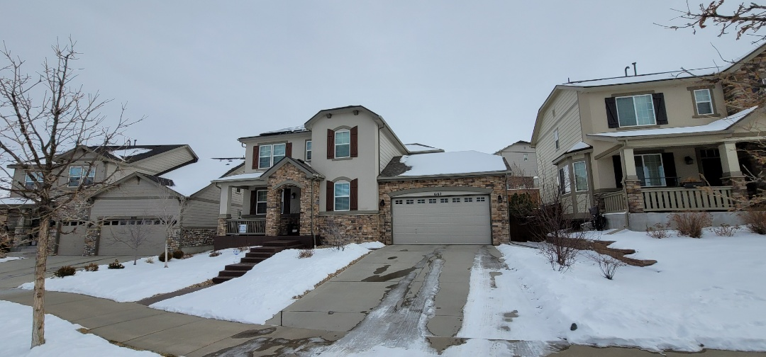 Aurora, CO - We are doing a roof inspection and some painting on this house in Aurora