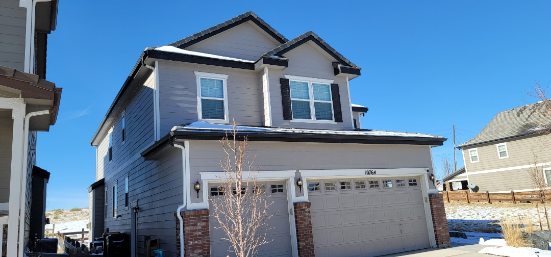 Parker, CO - We are doing a roof inspection for this house in Parker that has broken concrete roof tiles