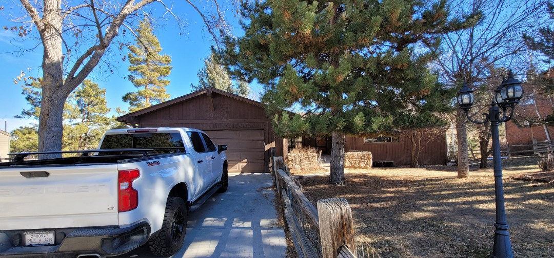 Parker, CO - we are doing a roof inspection for this house in the pinery in Parker that has some possible hail damage from previous hail storms over the last few years