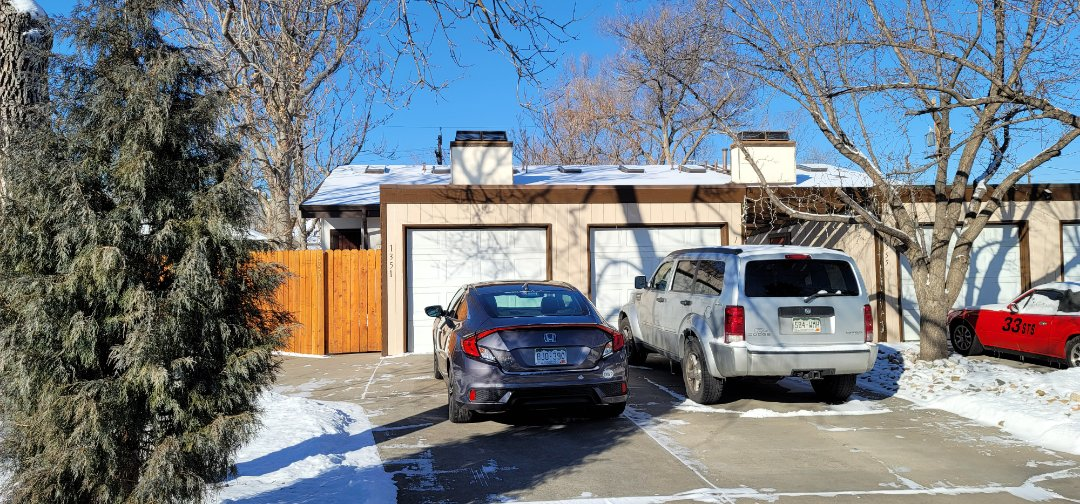 Denver, CO - We are doing a roof inspection for this flat roof in Denver that has a leak from a 20 year old flat roof. It will likely need to be replaced since it is coming up on the end of its useful life