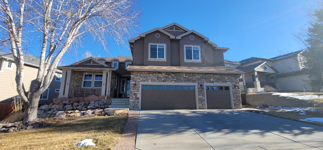 Littleton, CO - We are going to add new gutters to this house in Highlands Ranch where there were no gutters before