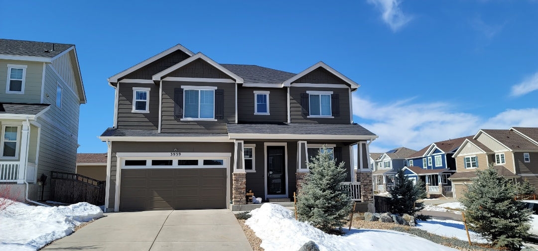 Castle Rock, CO - We are looking at a roof leak for this house in Castle Rock that has moisture coming in through a roof vent