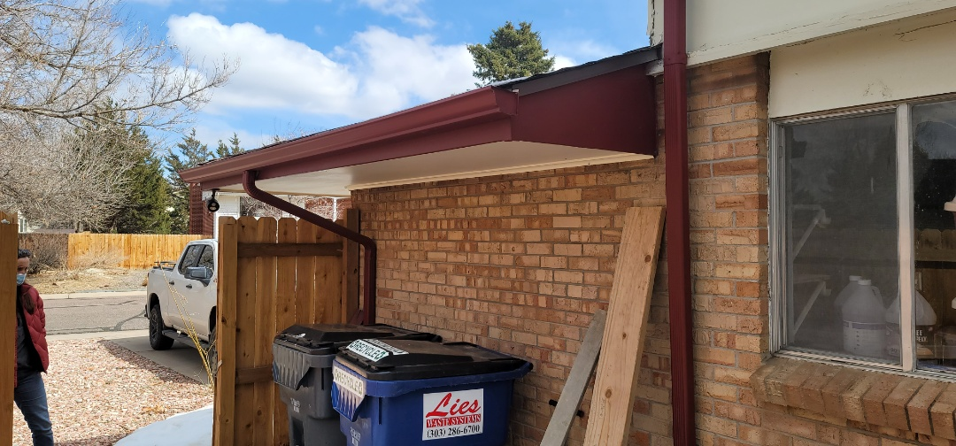 Aurora, CO - We are doing a roof and gutter inspection for this house in Aurora that needs new gutters and some other minor work done