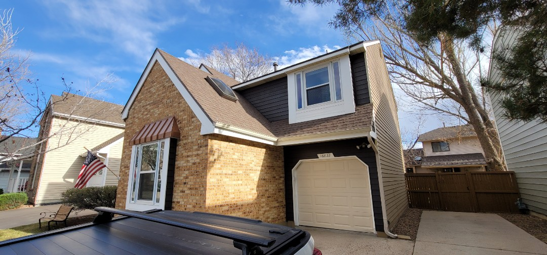 Centennial, CO - We are doing a roof inspection for a full roof replacement on this house in Centennial