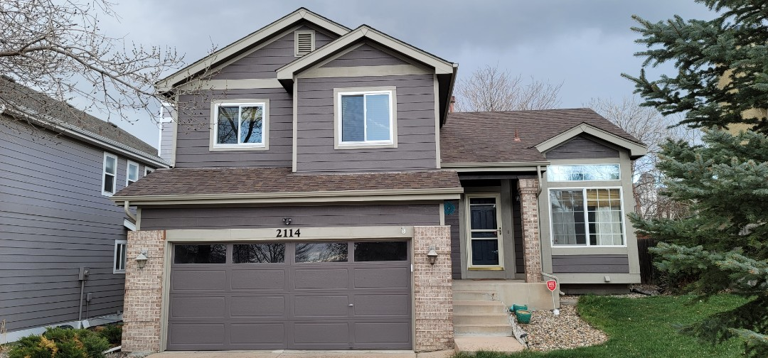 Colorado Springs, CO - We are doing a roof inspection and a gutter cleaning for this house in Colorado Springs