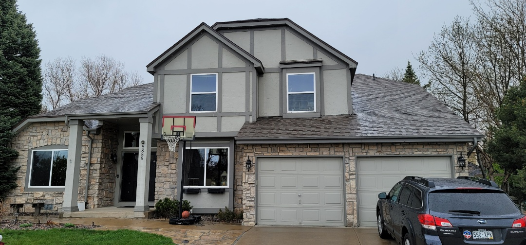 Littleton, CO - We are doing a roof leak inspection for this house in Highlands Ranch