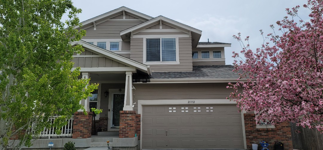 Aurora, CO - We are doing a roof inspection for a house in Aurora that has a roof leak