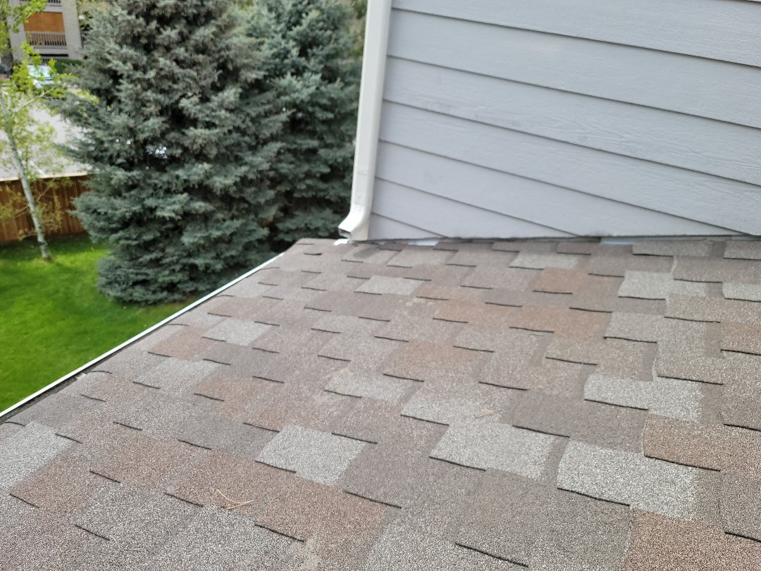 Englewood, CO - We are doing a roof inspection for this house in Centennial that has a roof leak