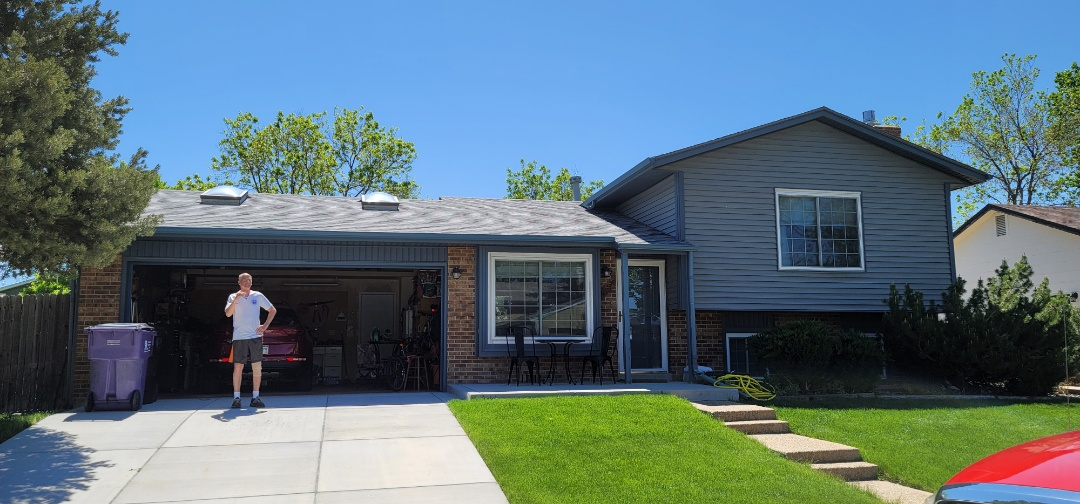 Littleton, CO - We are doing a roof inspection for this house in Littleton and a water test to find the roof leak